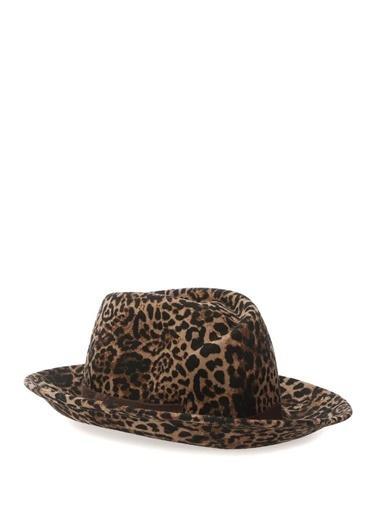 Ferruccio Vecchi Şapka Leopar